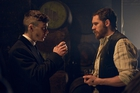 Cillian Murphy with Tom Hardy, who joins the season two cast of Peaky Blinders