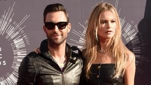 Adam Levine and wife Behati Prinsloo