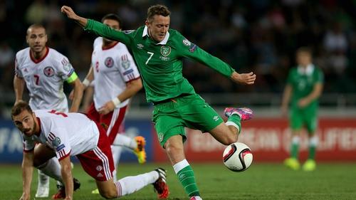 Aiden McGeady was the match-winner for Ireland