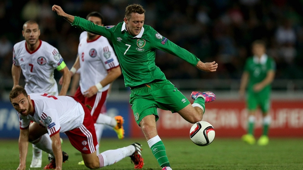 Aiden McGeady was the match-winner for Ireland