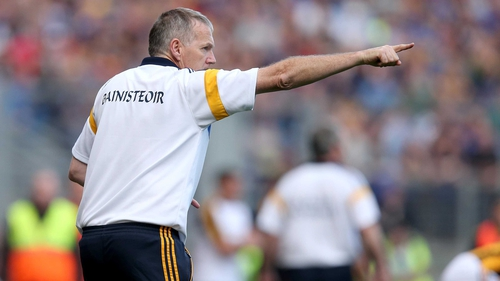 Eamon O'Shea is now looking in the direction of another joust with Kilkenny at the end of the month