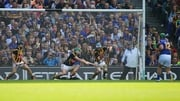 John O'Dwyer had his penalty saved with three men on the goal-line in this year's All-Ireland hurling final