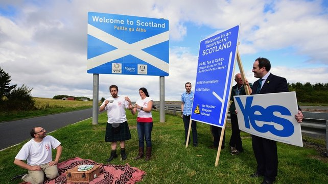 Independence supporters have been boosted by the weekend polls