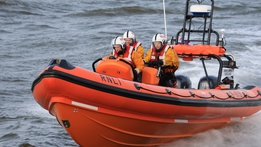 Family of rescued girl thank Courtown RNLI | RTÉ News