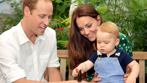 Prince George was born in July last year