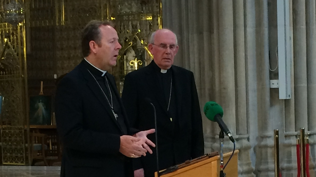 Archbishop Eamon Martin and Cardinal Seán Brady