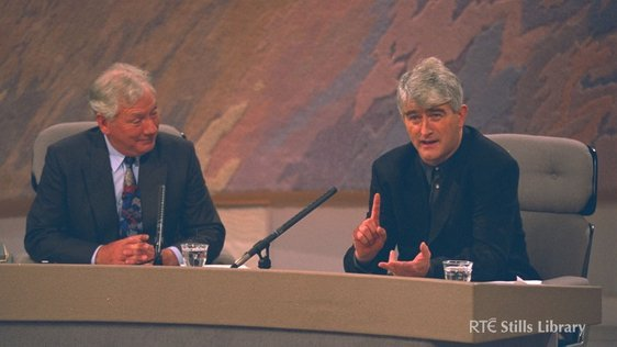 Gay Byrne and Dermot Morgan (1994)