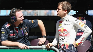Red Bull chief Christian Horner backing Sebastian Vettel