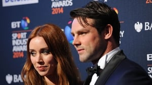 The expecting parents - Una and Ben Foden