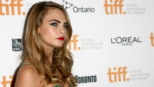 Cara Delevingne at the Face Of An Angel premiere at TIFF