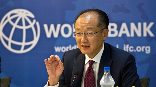 Jim Yong Kim became the World Bank's president in 2012