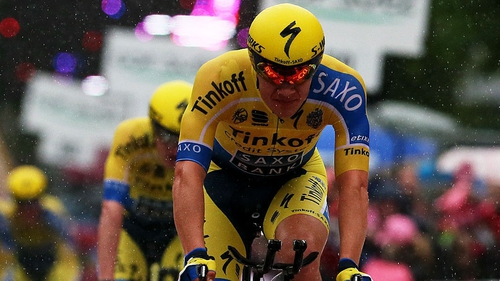 Nicolas Roche will ride as a lieutenant for Chris Froome at Team Sky next season