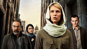 Claire Danes and the Homelands' crew
