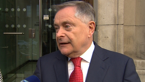 Brendan Howlin said that they were moving away from the 'crude' recruitment embargo