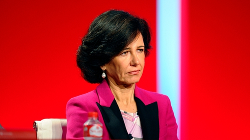 Ana Botin took over as Santander chairman from her father Emilio Botin after he died in September
