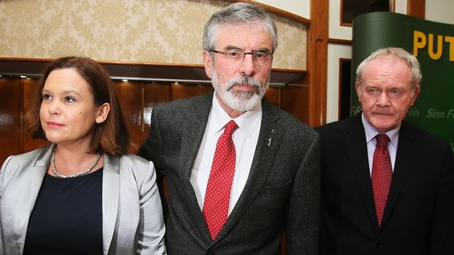 "Sinn Féin will focus on economic, health and education policies at their ""think-in"""