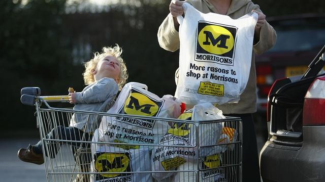 Sales edge up at UK supermarkets group Morrisons