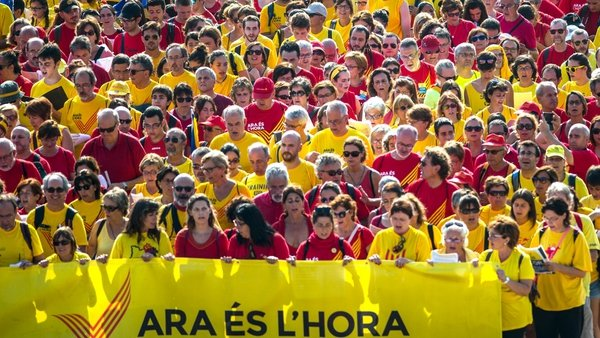 A large majority of Catalans want to hold a referendum on independence, polls show