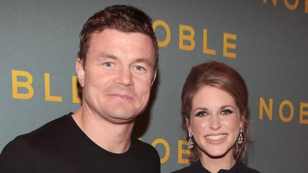Brian O'Driscoll, Amy Huberman