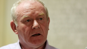 Martin McGuinness criticised the DUP for failing to implement the agreed programme for government