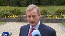 Taoiseach Enda Kenny pays tribute to Ian Paisley