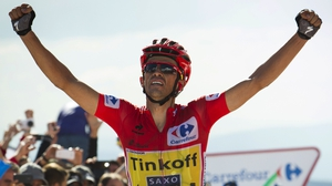 Alberto Contador would represent Oleg Tinkov should the Real Three Grand Tours challenge go ahead