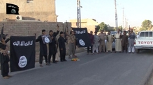 Islamic State fighters control large parts of northern Iraq and Syria