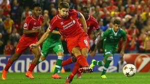 Steven Gerrard has made almost 700 appearances for Liverpool