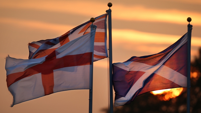 City traders are anticipating a surge in activity when the Scottish result comes through early tomorrow morning