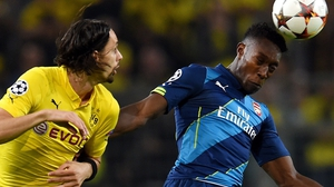 Danny Welbeck was guilty of sloppy finishing against Dortmund