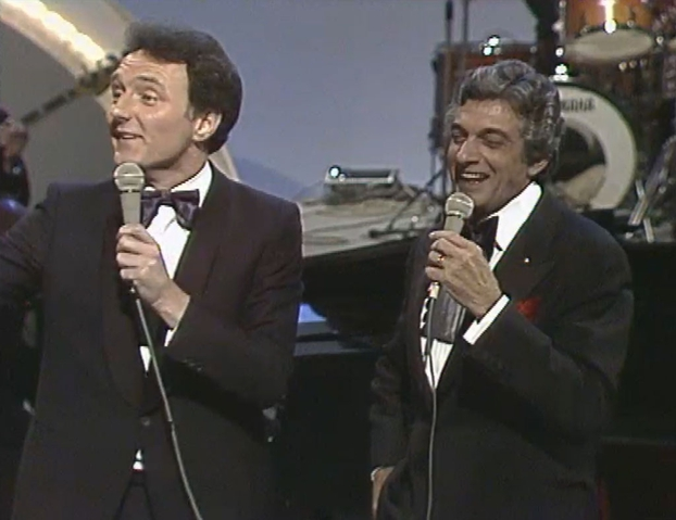 Mike Murphy and Frankie Vaughan