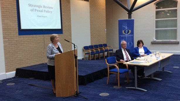 Frances Fitzgerald speaks at the publication of the report