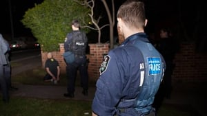 More than 800 police were involved in the pre-dawn security operation