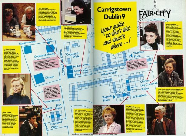 Fair City RTÉ Guide Fact File 15 September 1989