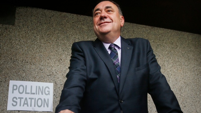 Scottish First Minister Alex Salmond has led the Yes campaign