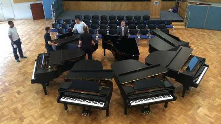 International Piano Competition underway in  RDS