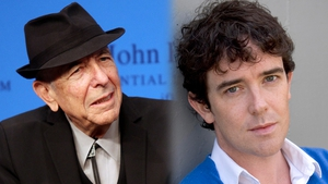Leonard Cohen and Cathal Murray