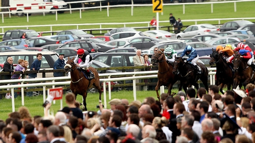Rock Critic winning the Guinness Time Handicap at the Galway Festival in 2011