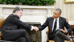 Petro Poroshenko met Barack Obama in Washington DC