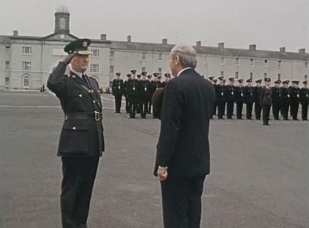 Garda Passing Out Parade