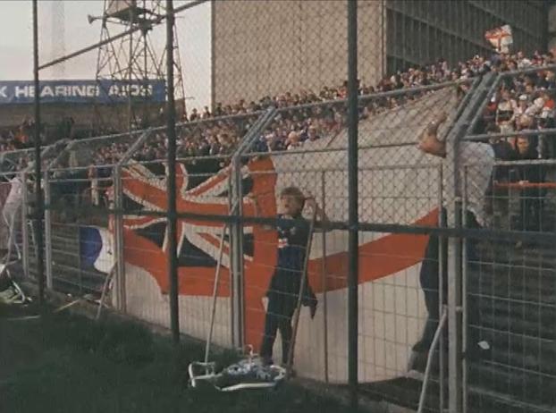 Union Jack, Dalymount Park, Glasgow Rangers Supporters