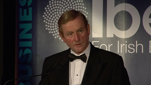 Enda Kenny said the current rate charged on income tax was affecting Ireland's attractiveness to investors