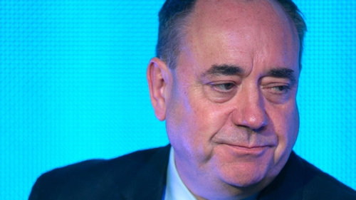 Alex Salmond said he accepted the democratic verdict of the people