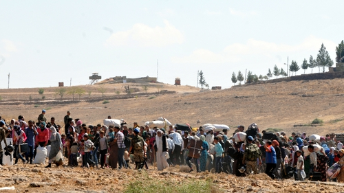 Three million people have fled the war in Syria