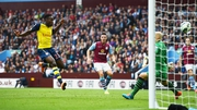 New signing Danny Welbeck scores his first goal for the Gunners