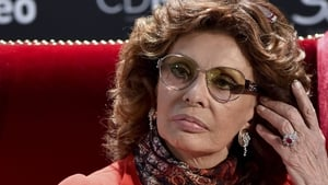 Italian actress Sophia Loren pictured at a press conference in Mexico, on September 18, before the opening of the exhibition 'Sophia Loren. Mexico. Yesterday, Today and Tomorrow.'