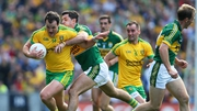 Michael Murphy from Donegal and Aidan O'Mahony of Kerry were both named on the team of the year for 2014