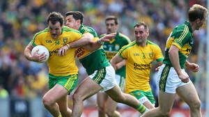 Michael Murphy from Donegal and Aidan O'Mahony of Kerry were both named on The Sunday Game team