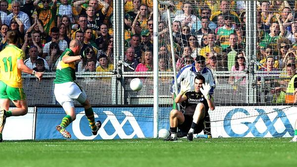 Kieran Donaghy scored Kerry's second goal