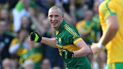 Kieran Donaghy paid tribute to his wife for helping him back from injury